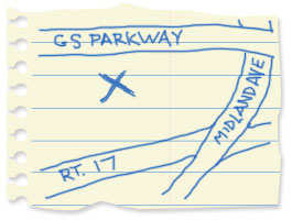 Paramus Park map